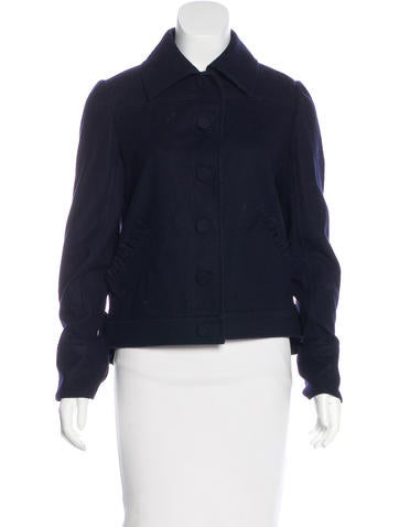 Valentino Virgin Wool Jacket None