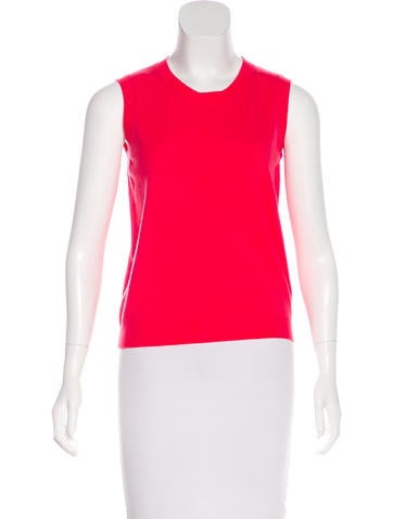 Valentino Wool Sleeveless Top w/ Tags None