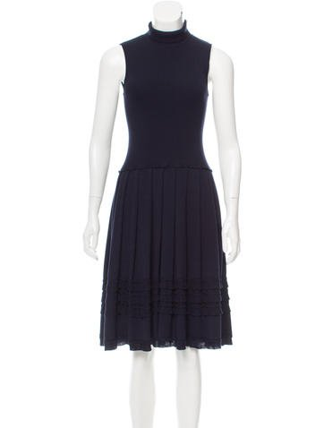 Valentino Knit Midi Dress None