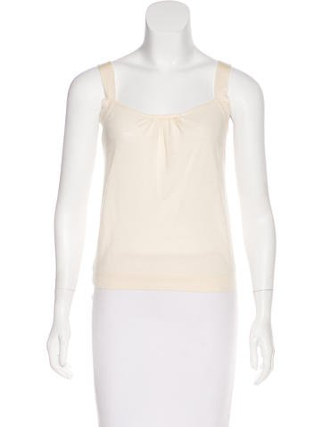 Valentino Knit Sleeveless Top None