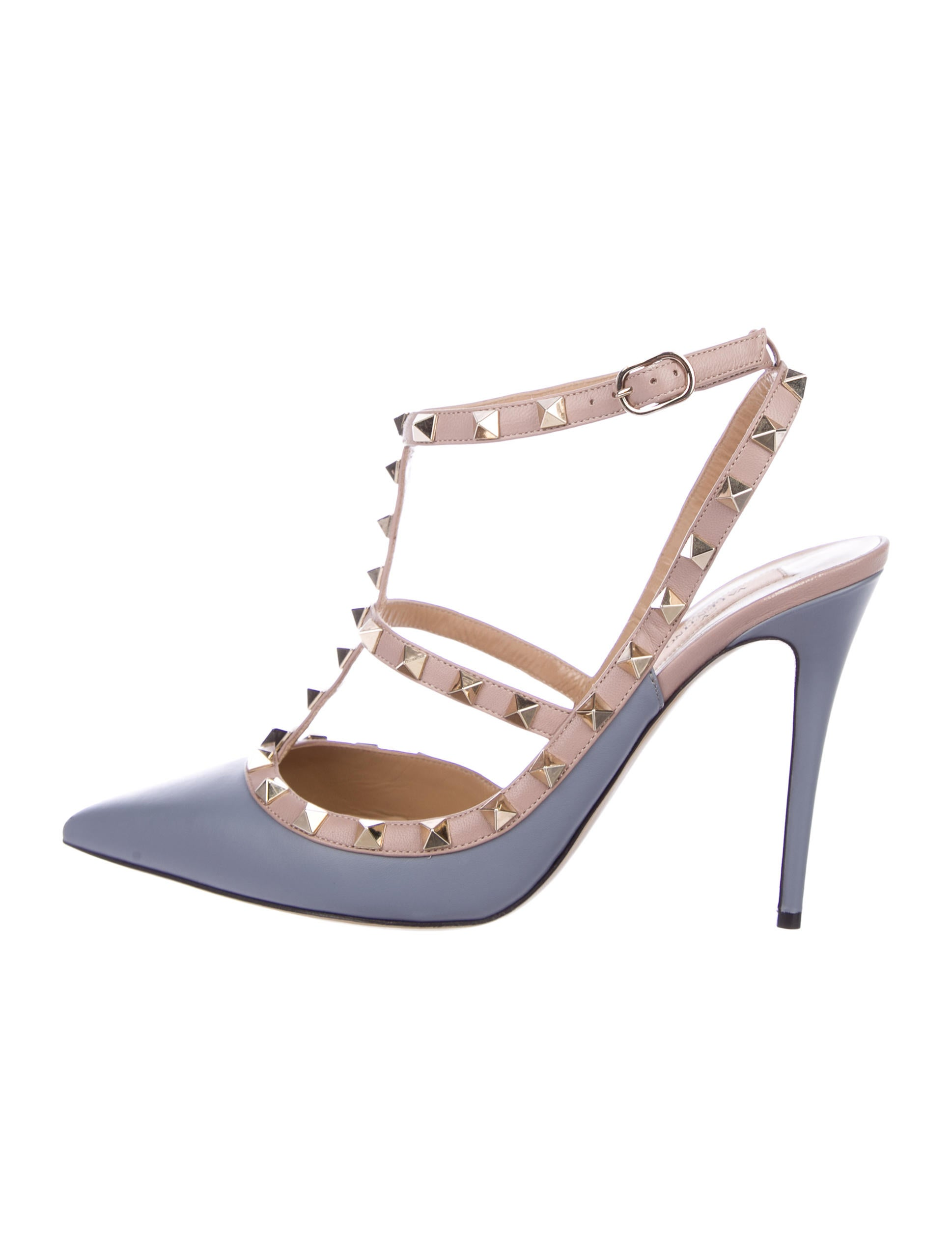 Valentino Rockstud Leather Pumps w/ Tags clearance marketable ebay cheap online buy cheap footlocker finishline outlet locations for sale ICHfKyp26W