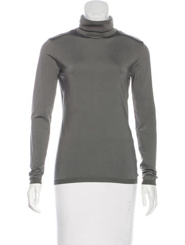 Valentino Knit Turtleneck Top None