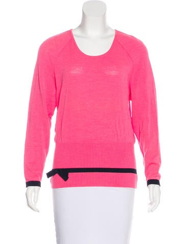 Valentino Wool-Blend Sweater None