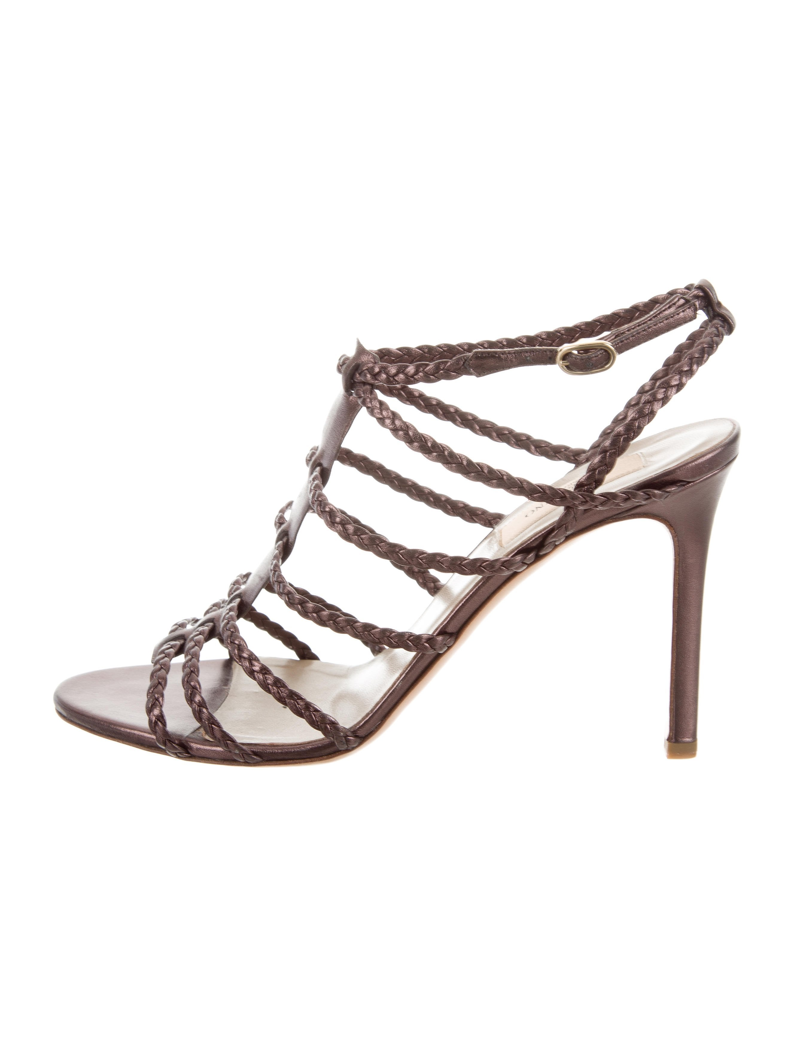 Valentino Woven Cage Sandals sale pick a best discount recommend wiki sale online vD2gbnE