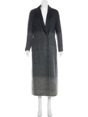 Valentino Wool & Mohair-Blend Coat None