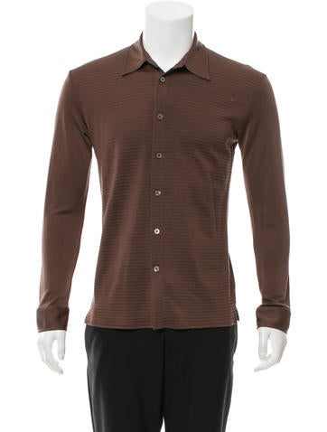 Valentino Silk Button-Up Shirt None
