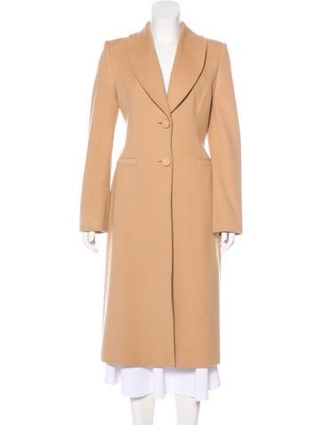 Valentino Wool Long Coat None