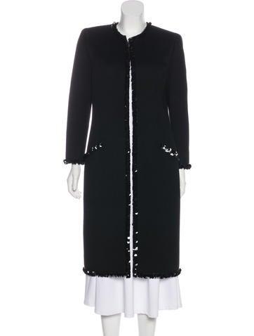 Valentino Vintage Embellished Coat None