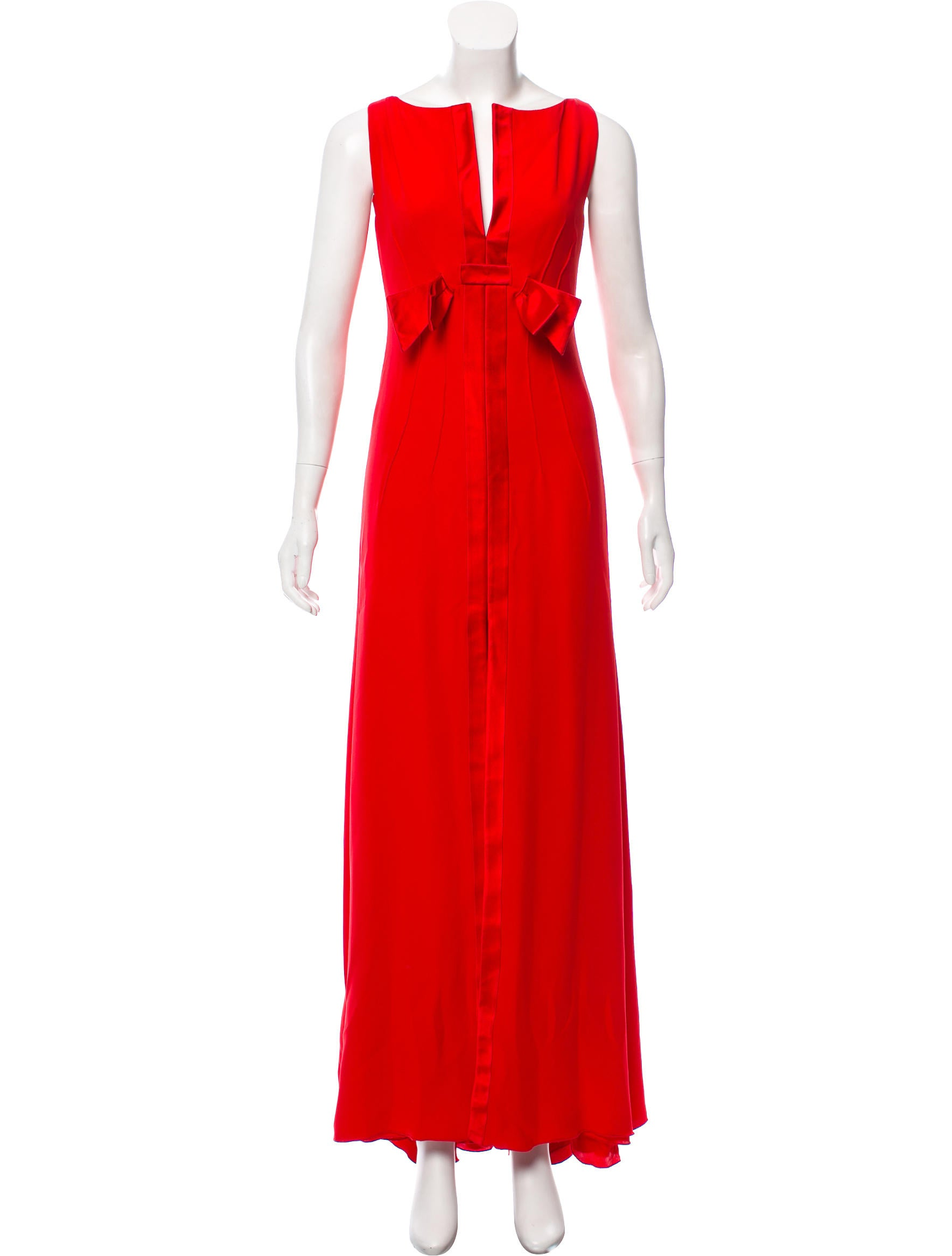 Valentino Silk Evening Dress - Clothing - VAL87693 | The RealReal