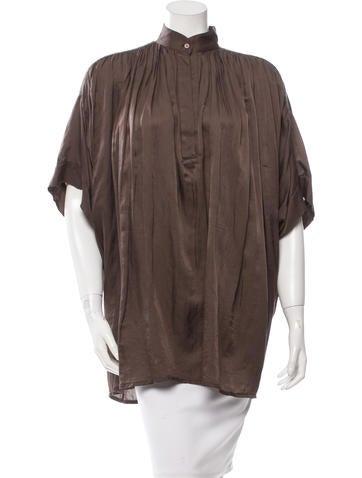 Vanessa Bruno Oversize Dolman Sleeve Top