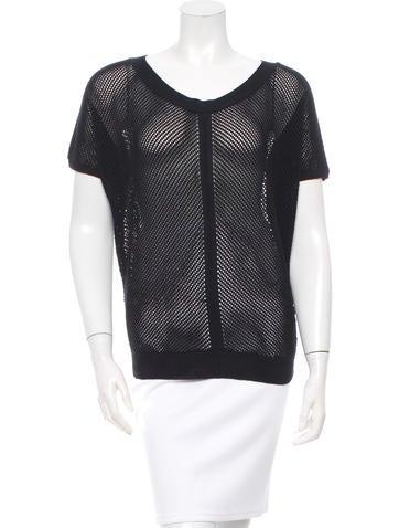 Vanessa Bruno Net Knit Sweater None