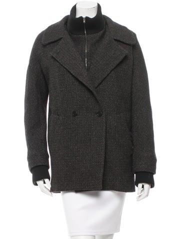 Vanessa Bruno Wool-Blend Oversize Jacket None