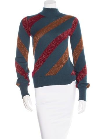 Vanessa Bruno Turtleneck Wool-Blend Sweater None