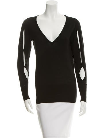 Vanessa Bruno Pullover V-Neck Sweater None