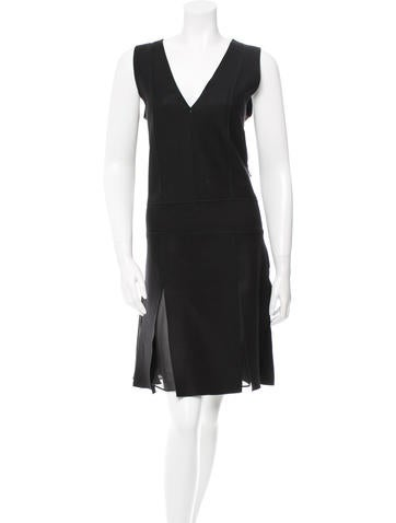Vanessa Bruno Wool Knee-Length Dress None