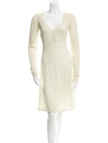 Vanessa Bruno Wool Knee-Length Dress None
