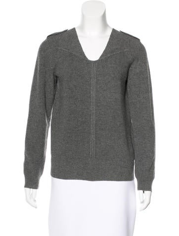 Vanessa Bruno Wool & Cashmere-Blend Sweater None