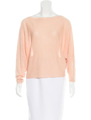 Vanessa Bruno Linen Dolman Sleeve Sweater None