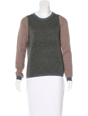 Vanessa Bruno Cashmere Colorblock Sweater None