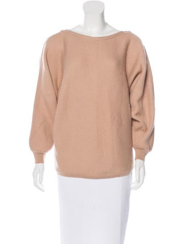 Vanessa Bruno Wool Dolman Sleeve Sweater None