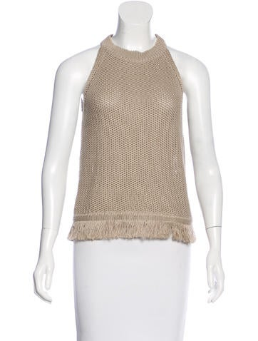 Vanessa Bruno Sleeveless Knit Top None