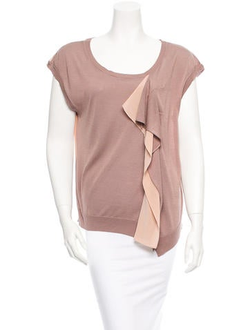 Vanessa Bruno Silk Top None