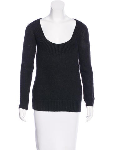 Vanessa Bruno Scoop-Neck Knit Sweater None