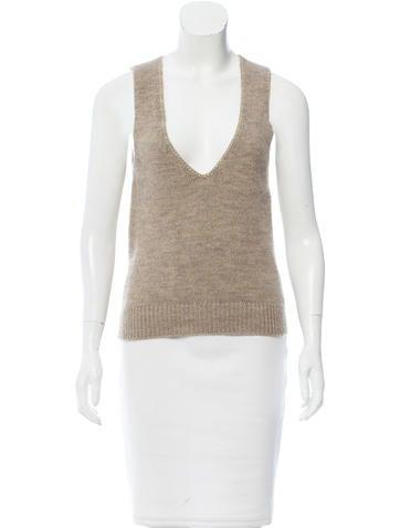 Vanessa Bruno Cashmere & Alpaca Blend Sweater None