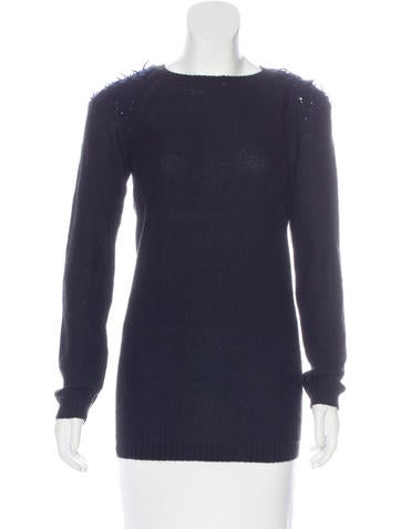 Vanessa Bruno Alpaca-Blend Raglan Sleeve Sweater None