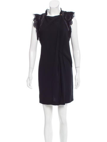 Vanessa Bruno Sleeveless Knee-Length Dress None