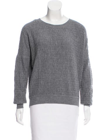 Vanessa Bruno Textured Knit Sweater None