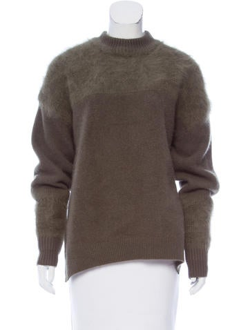 Vanessa Bruno Fuzzy Knit Sweater None