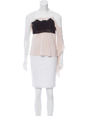 Vanessa Bruno Silk Sleeveless Top w/ Tags None