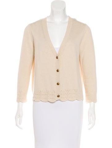 Vanessa Bruno Wool & Cashmere-Blend Cardigan None