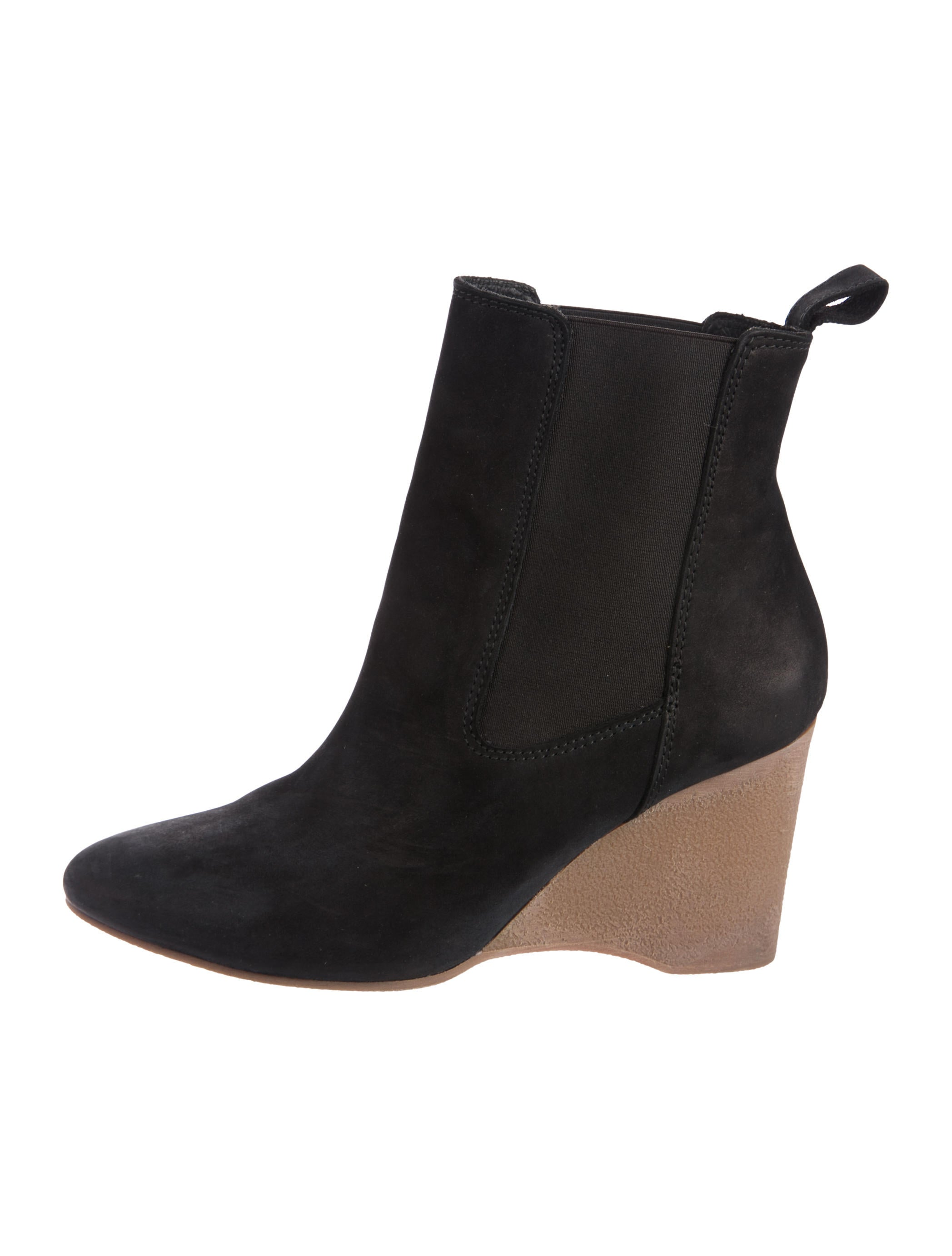 outlet excellent Vanessa Bruno Suede Wedge Ankle Boots sale recommend discount great deals cheap sale websites XRKX4R4C