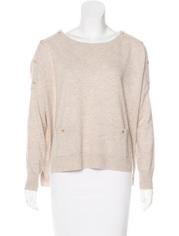 Vanessa Bruno Long Sleeve Wool Sweater None