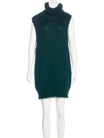 Vanessa Bruno Mohair Sweater Dress None