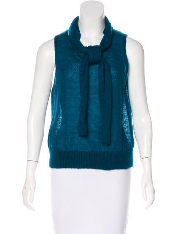 Vanessa Bruno Mohair-Blend Top None