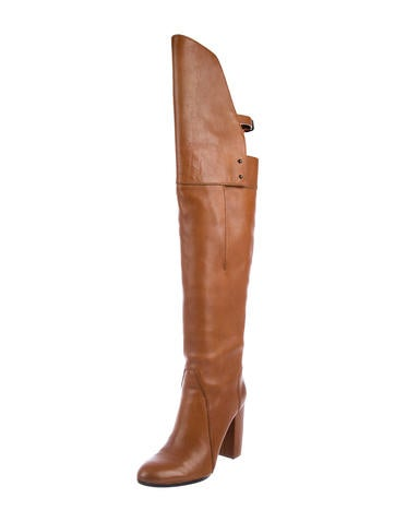 how much cheap price sale outlet store Vanessa Bruno Leather Over-The-Knee Boots 9cWma2