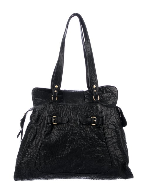 Vanessa Bruno Leather Tote Black