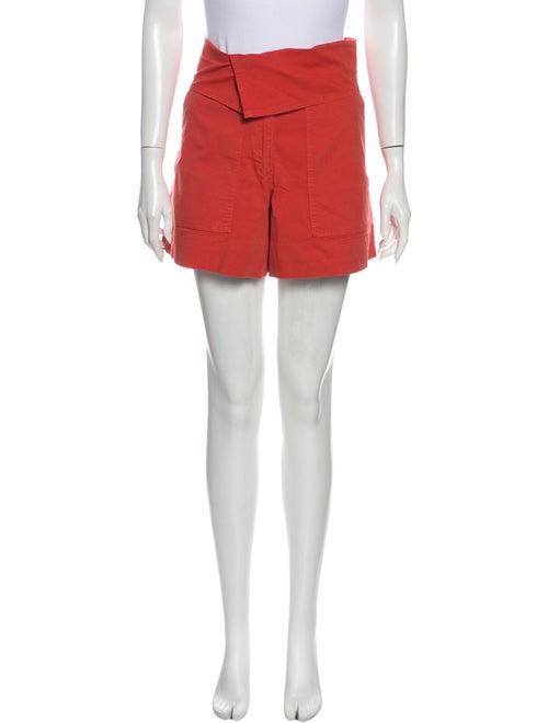 Vanessa Bruno Mini Shorts Orange
