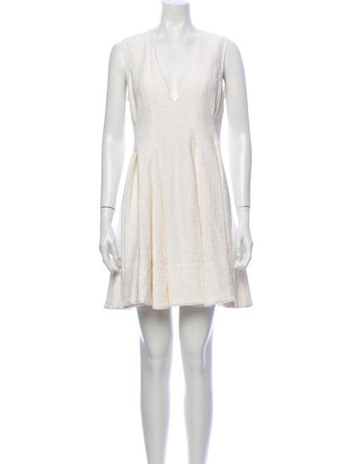 Vanessa Bruno V-Neck Mini Dress