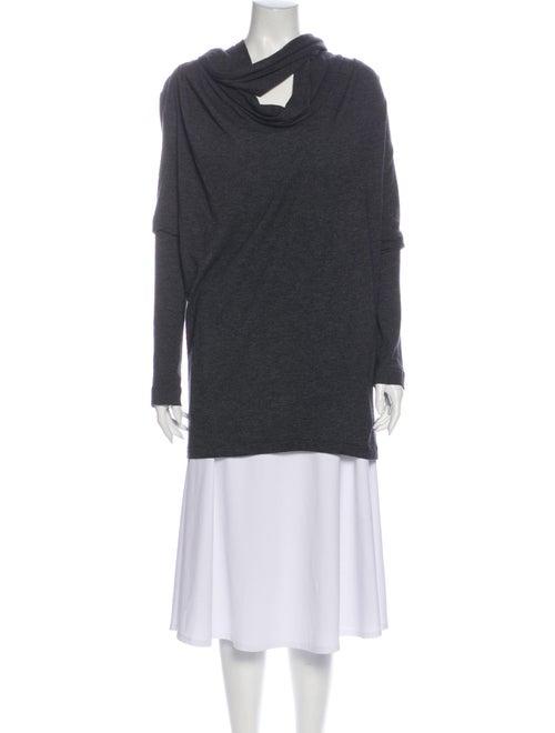 Vanessa Bruno Cowl Neck Sweater Grey