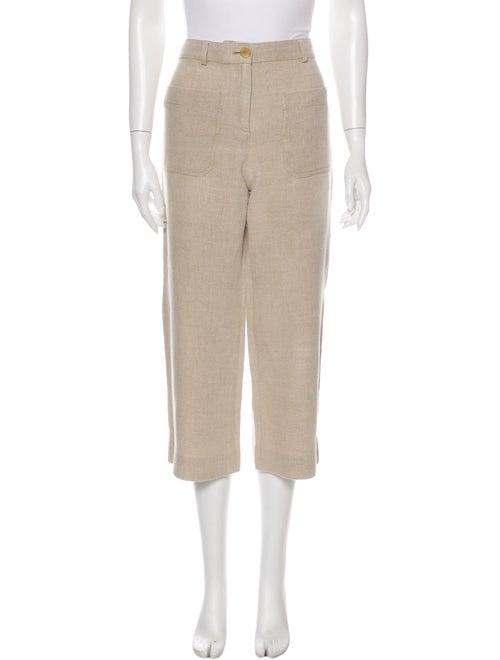 Vanessa Bruno Linen Wide Leg Pants