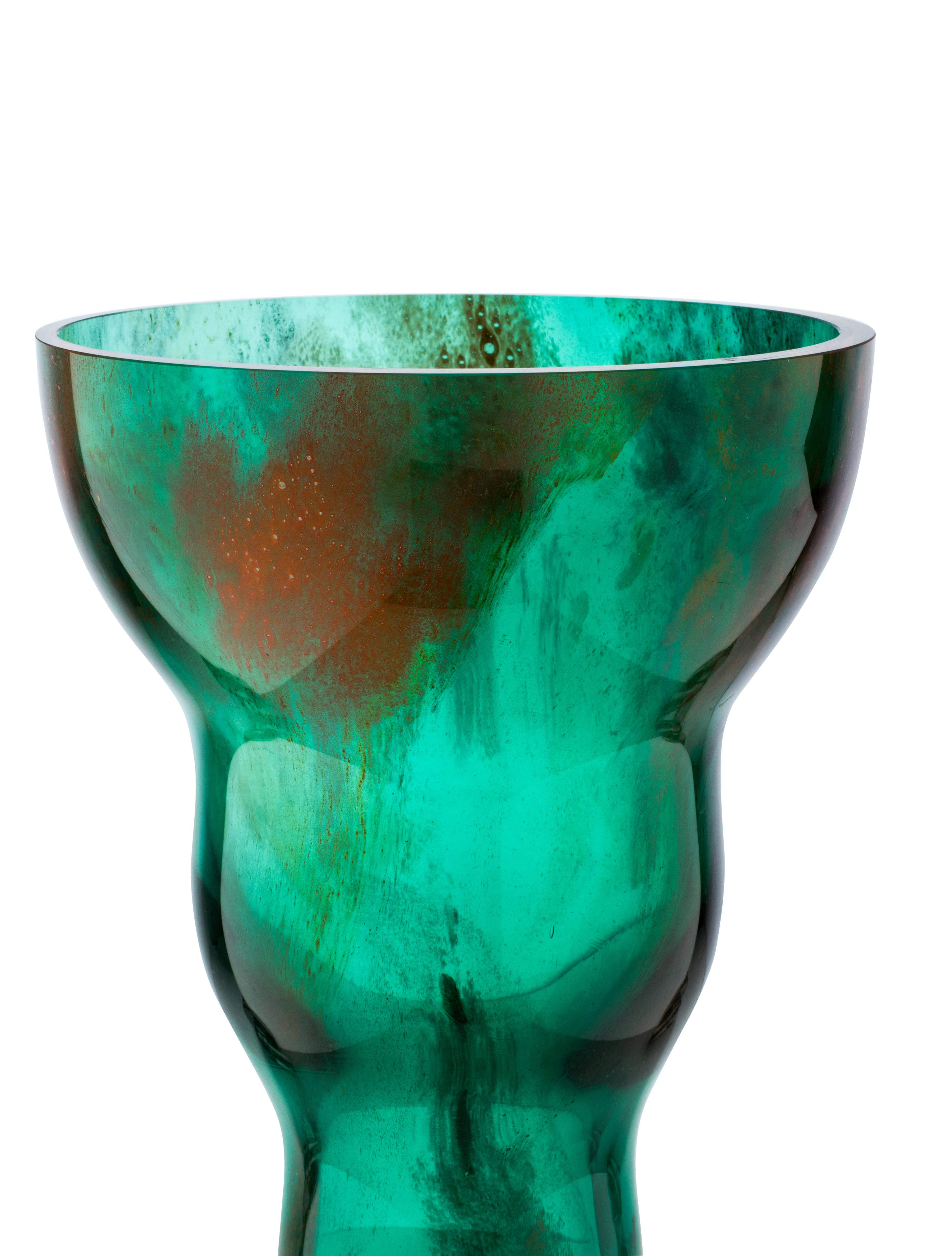 Decorative Glass Product : Abstract glass vase decor and accessories vases