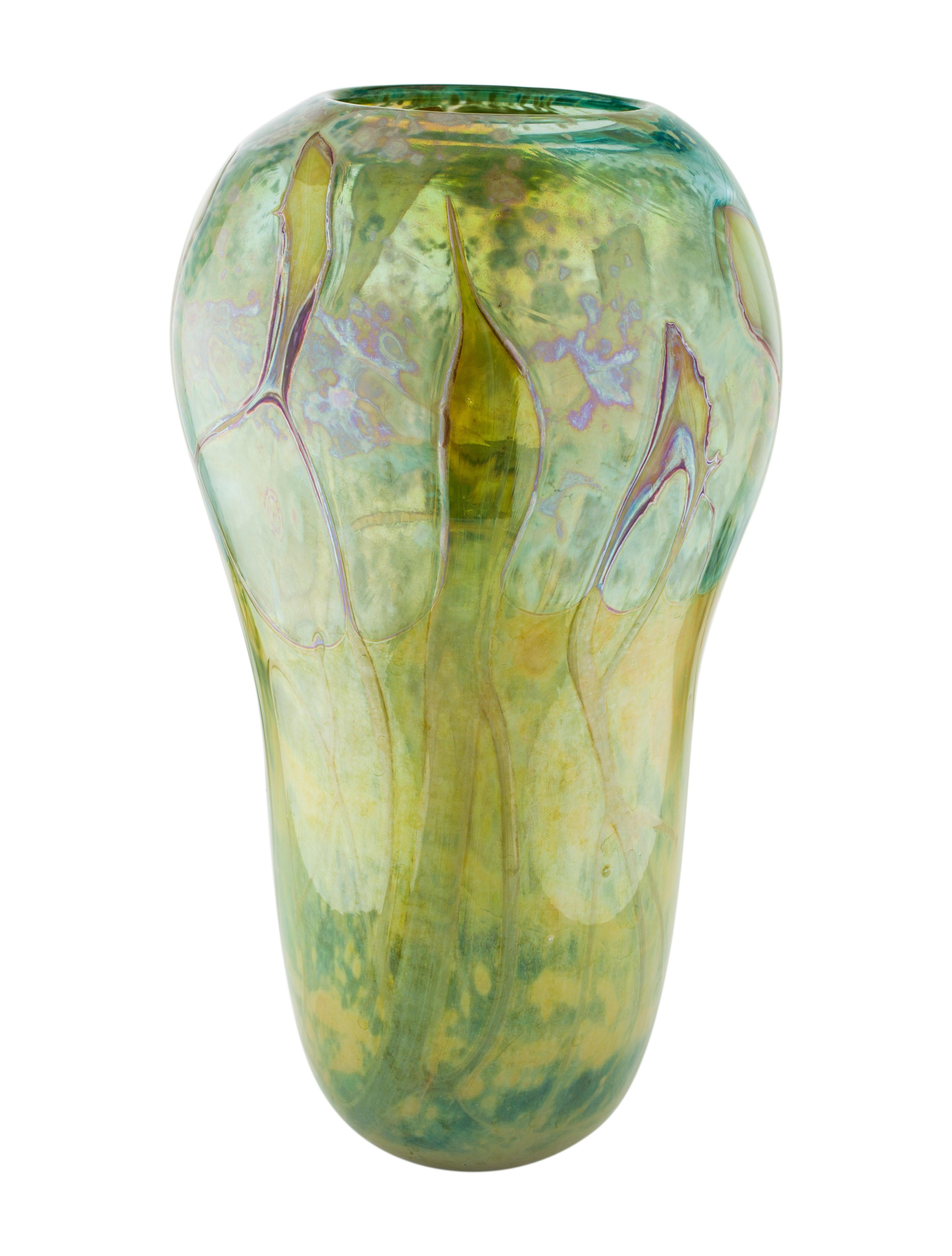 Glass Vase Holiday Decor