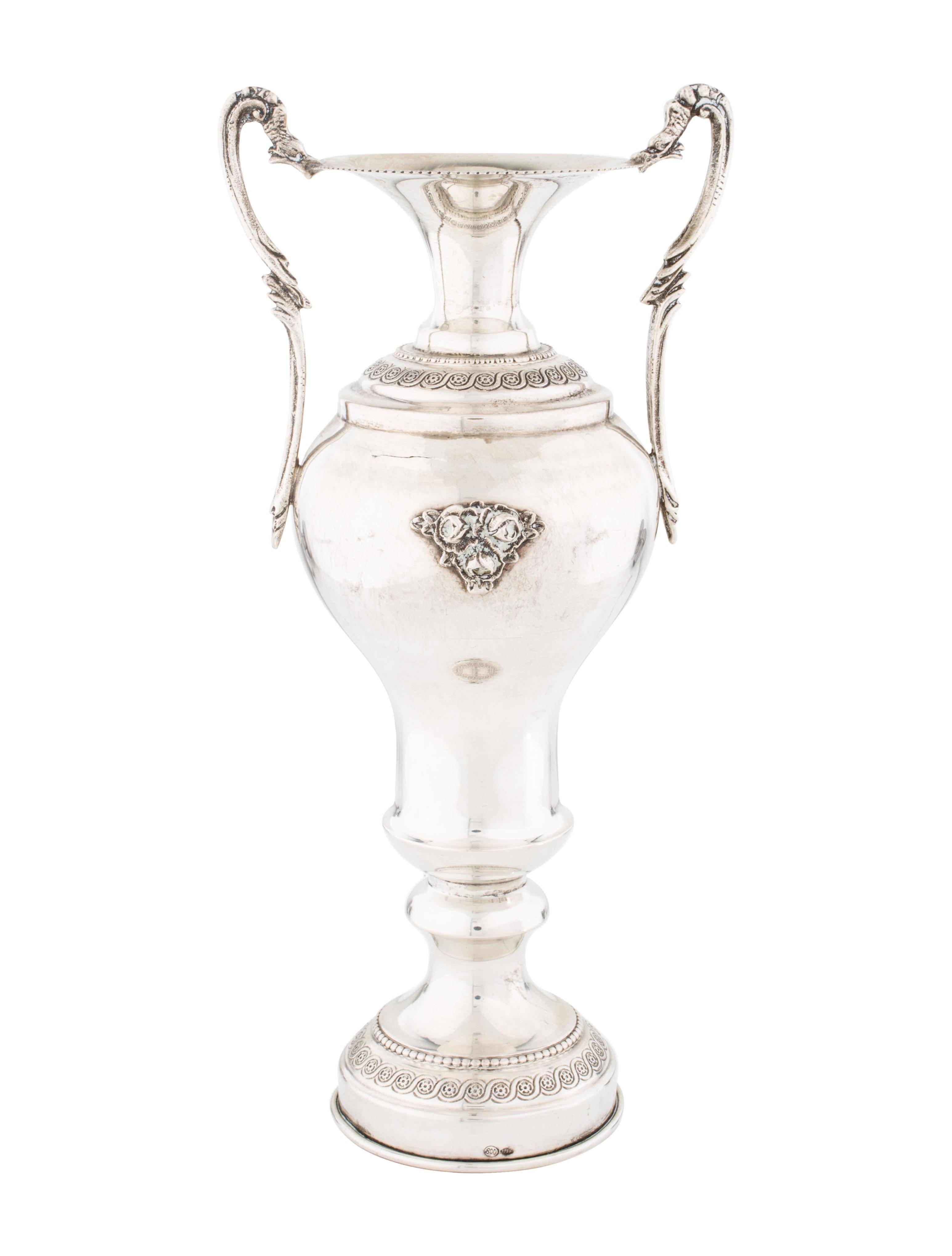 Silver italian miniature vase decor and accessories for Artistic accents genuine silver decoration
