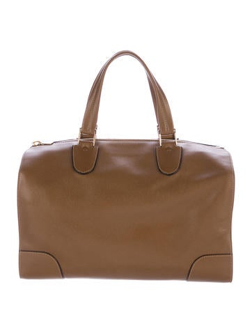 Valextra Boston Satchel - Handbags