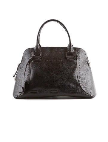 Pebbled Leather Handbag