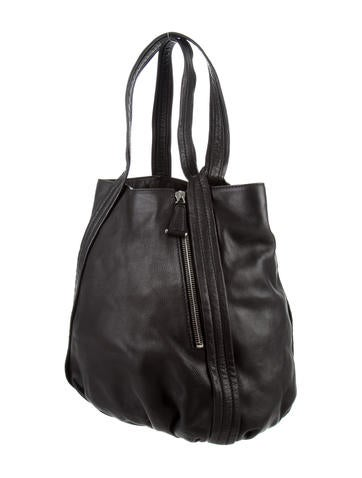 Leather Runner Tote